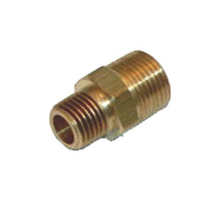 "Adapter, 3/8"" Male NPT to 1/4"" Male NPT"