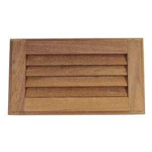 "Louvered Insert, 6 3/8""H"