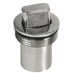 "2"" Hose Universal Push-Up Cap, Stainless Steel"