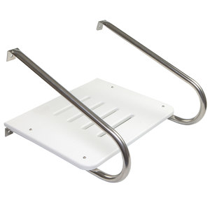 Poly Swim Platform with Mounting Hardware for Boats with Inboard/Outboard Motor