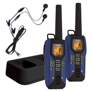 Submersible 50 Mile FRS/GMRS Two-Way Radios with Charging Kit