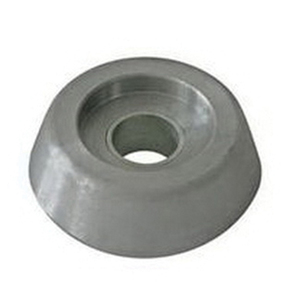 "Lewmar™ Bow Thruster Zinc Anode, 0.7"" and 1.3"" ID, 2.4"" OD, 0.8""H"