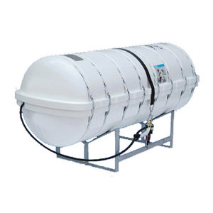Shoremaster IBA™ 50-Person Life Raft with Fiberglass Round On-Deck Container