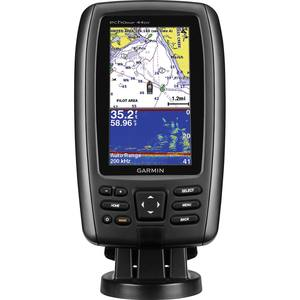garmin echomap™ 44dv chartplotter/sonar combo with downvü scanning, Fish Finder