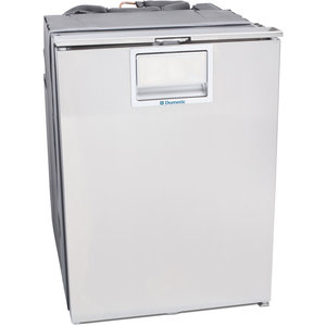 CRX Stainless Steel Faced Fridge/Freezer, 3.8cu.ft.