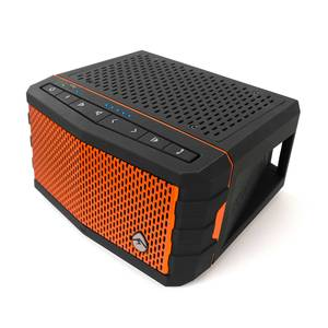 EcoJam Waterproof Speaker, Orange