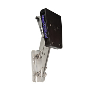 Adjustable Outboard Motor Bracket, Aluminum, 2-Stroke, Max. 12hp, Max 82 lb.