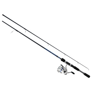"6'6"" D-Cast Shock Freshwater Spinning Combo, Medium Power"