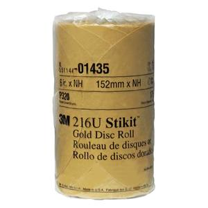 "Stikit™ Gold Disc Roll, 6"", P320A Grit"