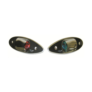 Side Mount Shark Eye LED Navigation Lights