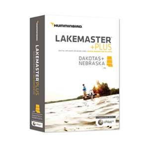 HCDAKP5 Lakemaster +Plus Dakota/Nebraska Chart microSD/SD Card
