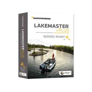 HCWRP4 Lakemaster +Plus Woods/Rainy Chart microSD/SD Card