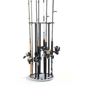 Driftwood Series Spinning Round Rod Rack
