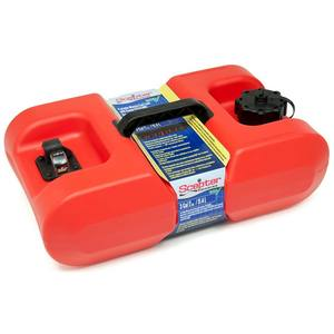 Under-Seat Portable Fuel Tank, 3 Gallons