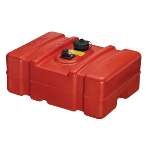 Low-Profile Portable Fuel Tank, 12 Gallons
