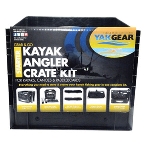 Kayak Angler Starter Kit In Crate