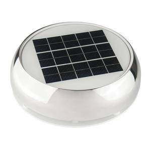 "3"" Stainless Steel Day/Night Solar Nicro Vent"