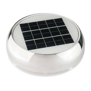 "4""  Stainless Steel Day/Night Solar Nicro Vent"