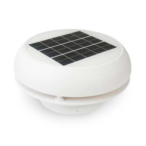 "4"" Day/Night Solar Nicro Vent"