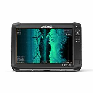HDS-12 Carbon Multifunction Display with Insight PRO Charts and  StructureScan 3D Transducer