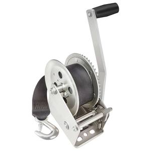 1800 lb. Manual Trailer Winch w/Strap