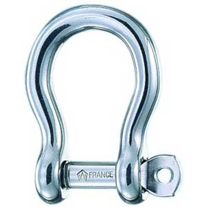 "15/32"" Loose Pin Bow Shackle"