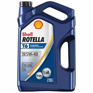 5W-40 Rotella T6 Synthetic Diesel Engine Oil Gallon