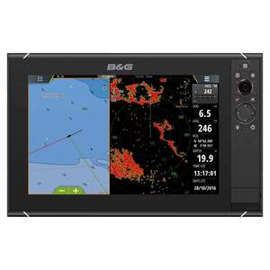 Zeus³ 12 Multifunction Display with Worldwide Basemap Charts