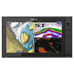 NSS16 evo3 Multifunction Display with C-MAP® US Enhanced Charts