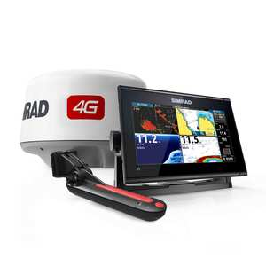 GO9 XSE Bundled with TotalScan™ Transducer & Broadband 4G™ Radar