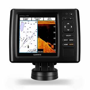 echoMAP™ CHIRP 54cv Fishfinder/Chartplotter Combo with ClearVü Transducer and BlueChart g2 Coastal Charts