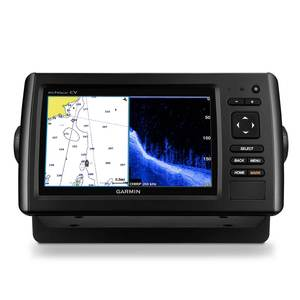 echoMAP™ CHIRP 74cv Fishfinder/Chartplotter Combo with ClearVü Transducer and BlueChart g2 Coastal Charts