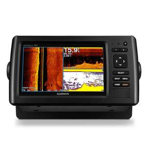 echoMAP™ CHIRP 74sv Fishfinder/Chartplotter Combo with ClearVü/SideVü Transducer and BlueChart g2 Coastal Charts