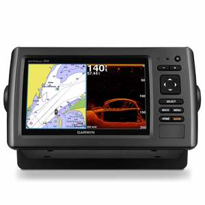 Garmin echoMAP 74dv Fishfinder/Chartplotter with BlueChart g2 Coastal Maps (Transducer Sold Separately)
