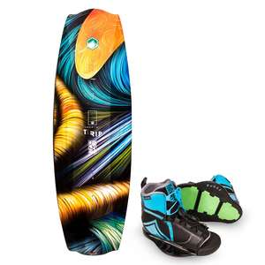 138 Trip Wakeboard with  Index binding, Size  8-12 MNT