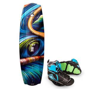 142 Trip Wakeboard Combo with Index Binding