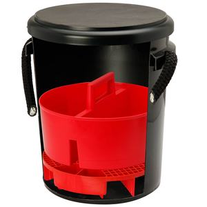 One Bucket Cleaning Kit, Black