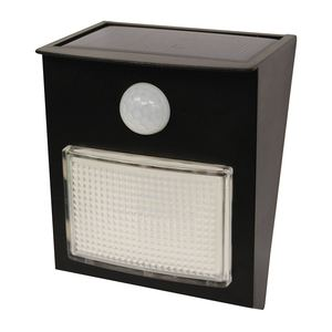Motion-Sensor Solar LED Post Light