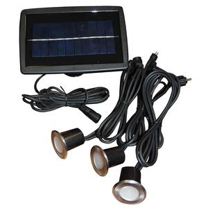 Solar LED Recessed Wired Light Kit