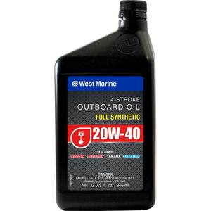 Premium 20W-40 4-Stroke Full Synthetic Engine Oil, Quart