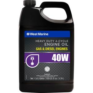 Premium SAE 40W 4-Cycle Heavy Duty Engine Oil, Gallon