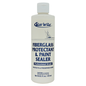 Fiberglass Protectant and Paint Sealer, 16 oz.