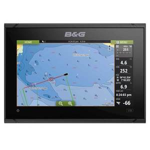 Vulcan 9 Chartplotter with Worldwide Basemap Charts