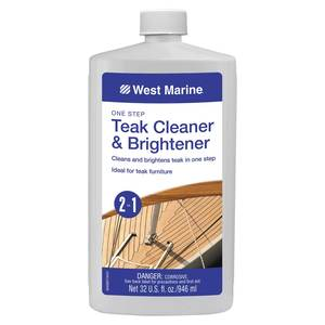 One Step Teak Cleaner & Brightener