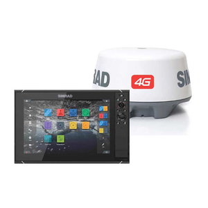 NSS12 evo3 Multifunction Display and Broadband 4G Radar Package