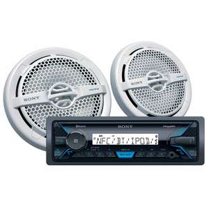 DSX-M55BT Marine Digital Media Player and Speaker Package