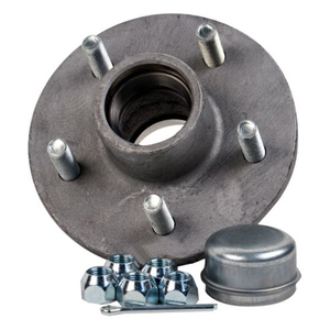 Galvanized Trailer Hub Kit Tapered Spindle