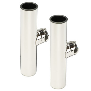Stainless Steel Clamp-on Double Rod Holders