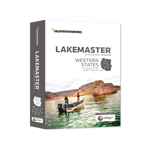 Lakemaster Western States Chart MicroSD Card, Version 2