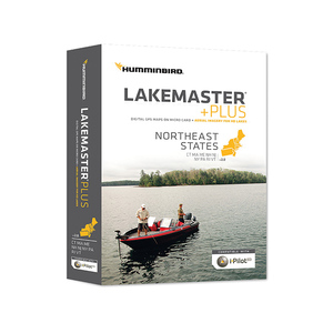 HCNEP2 Lakemaster Plus Northeast States Chart MicroSD Card, Version 2